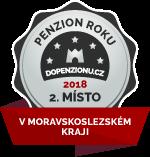 Penzion získal ocenění v anketě v anketě Penzion roku 2017